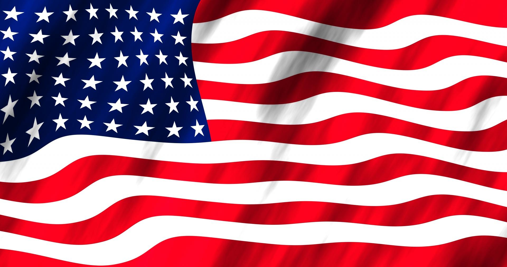American Flag on Sewer Repair